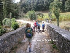 """In 2012, I walked """"The Way"""" of St. James, also known as the Camino de Santiago, to Santiago de Compostella with my four children, then ages 2, 5, 7, and 9. The movie """"The Way"""