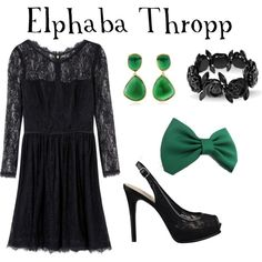 Elphaba Outfit (Wicked) made by @Anna Totten Devine