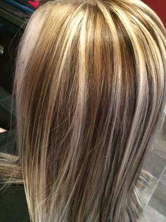 Dimensional blonde #blonde #caramel # chocolatelowlights #hairbymisty