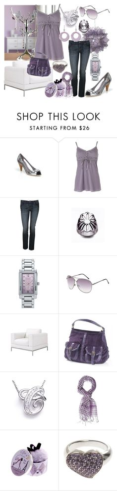 Untitled by gigi on Polyvore featuring moda, Charlotte Russe, Anya Hindmarch, Tiffany & Co., American Eagle Outfitters, Topshop, Witchery and Benefit