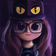 30 Ideas music drawings cartoon for 2019 Kawaii Girl Drawings, Cute Girl Drawing, Cartoon Girl Drawing, Cartoon Drawings, Cartoon Art, Music Drawings, Cute Drawings, Cute Eyes, Big Eyes