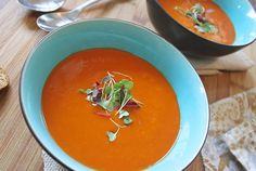 One of my favs is this Slimming World tomato soup, it doesn't have to be full of fat and calories