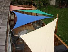 Shade Sails as outdoor shade option