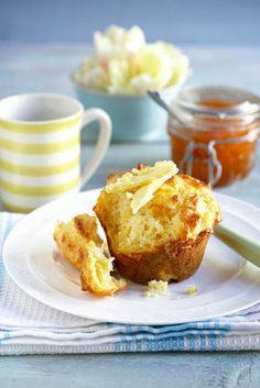 Everything is better with cheese Savory Muffins, Baking Muffins, Savory Snacks, Cheese Muffins, Sweet Recipes, Cake Recipes, Snack Recipes, Dessert Recipes, Kos