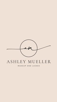 Logo design and branding kit fully customizable beauty logo cursive logo hair and beauty logo handwritten lashes logo salon logo Design Logo, Custom Logo Design, Custom Logos, Layout Design, Brand Design, Logo Design Simple, Handwritten Logo, Calligraphy Logo, Typography