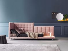 Tufted upholstered sofa bed ALVAR | Sofa bed by Bonaldo