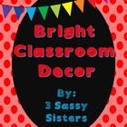 Thank you for purchasing our product!  This Rainbow classroom décor set has been created with bright, happy colors and patterns in mind.  We hope y...