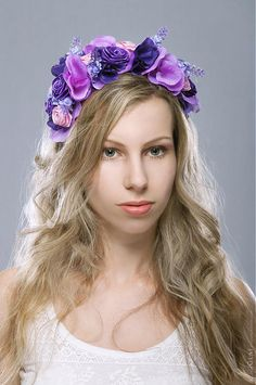 violet hairband
