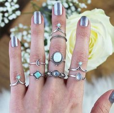 Perfect icy winter jewels- curtesy of dixi