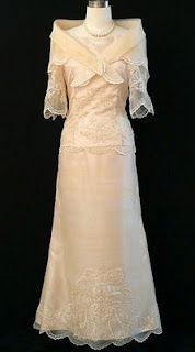 Pina Jusi Barot Saya Anniversary Dress25th Wedding