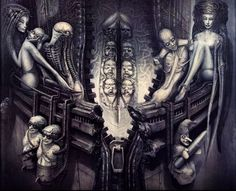 Hans Rüdi Giger: Passage Temple (Life)