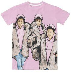 North West 3D Sublimation Print T-shirt - OGV Shop
