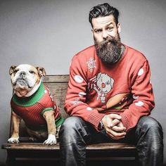 Beards. Men. Mans best friend. Photography.