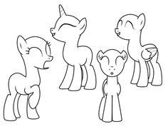 Картинки по запросу пони как рисовать
