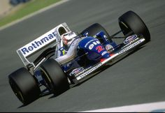 Nigel Mansell WILLIAMS FW16B RENAULT RS6 (NA3.5L-V10)
