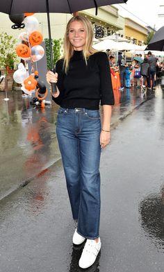 Gwyneth Paltrow Co Sweater Rebecca Taylor Jeans