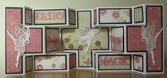 Tattered Lace Dies: Double Shutter Card by Brenda