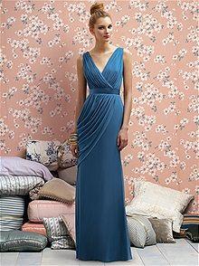 Lela Rose LR174 #blue #bridesmaid #dress