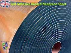 Neoprene Foam Sheet Self Adhesive Backed Van Sound Insulation