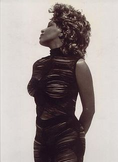 Tina Turner for Azzedine Alaia Tina Turner, Azzedine Alaia, Grace Jones, Women In Music, Iconic Women, Rock, Beautiful Images, Role Models, Ikon