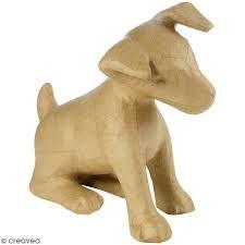 Image result for como hacer perrito de papel mache