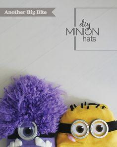 Another Big Bite - DIY Minion Hats