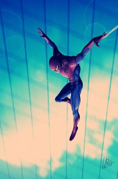 #Spiderman #Fan #Art. (Spider-Man) By: Richard Williams. (THE * 5 * STÅR * ÅWARD * OF: * AW YEAH, IT'S MAJOR ÅWESOMENESS!!!™)[THANK Ü 4 PINNING!!!<·><]<©>ÅÅÅ+(OB4E)