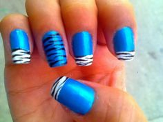 DECORACION DE UÑAS animal print nail decoration