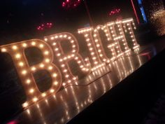 MARQUEE LETTERS corporate event