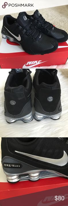 {Nike Shox} Men's Shoe {Nike Shox} Men's Shoe. Colors: black and silver. Size: 12. New, never worn. Box included. Nike Shoes Athletic Shoes