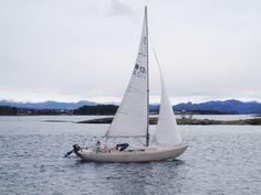 Single-handed winter sailing in IF-folkboat Maritornes