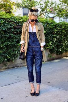 How to wear your overalls into fall and more- get outfit ideas by clicking here