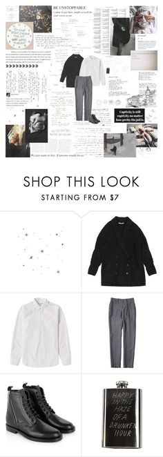"""we are the ruined youth, we swallow mud like it's wine and pray to purge our blood."" by prehistories ❤ liked on Polyvore featuring Alexander McQueen, KAZ, Balenciaga, Comme des Garçons SHIRT, Yves Saint Laurent and In God We Trust"