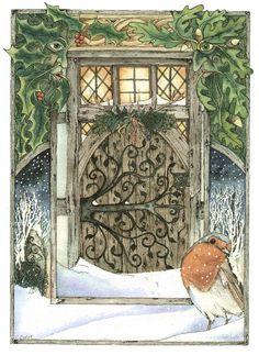 Solstice Door by Christopher Bell