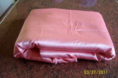 8 yards by 40 inches wide pink satin fabric by CraftyarnsbyGillian