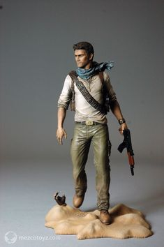 Some Uncharted 3 Nathan Drake Figures Announced - The Toyark - News Uncharted Drake, Uncharted Series, Gi Joe, Video Game Art, Video Games, Vinyl Figures, Action Figures, Nathan Drake, Men Photography