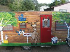 When a family of 6 asked her to decorate their camper, she cleans it up, but then she does THIS!