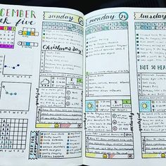 Weekly & Daily Spread - December 2016 Week 5 Here's to the first part of the week being finished. I love how productive I've been thanks to my checklist for what to get done before company arrived! #bujojunkies #bujo #bulletjournal #bullet #journaling #journal #tracker #habittracker #habit #bujotracker #planwithme #planwithmechallenge #weightloss #weighttracker #daily #dailydoing #dailytracker #leuctturm1917 #bulletjournallove #bohoberrytribe