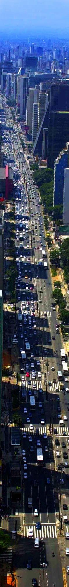 Avenida Paulista, São Paulo Brasil