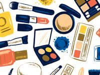 Great work from a designer in the Dribbble community; your best resource to discover and connect with designers worldwide. Rouge Makeup, Makeup Designs, Painting Patterns, Color Theory, Makeup Art, Mascara, Eyeshadow, Graphic Design, Illustration