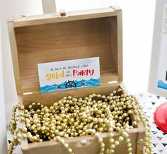 Playful & Modern Pirate Birthday Party Ideas // Hostess with the Mostess® Pirate Birthday, Pirate Party, Boy Birthday Parties, 5th Birthday, Birthday Ideas, Birthday Activities, Party Activities, Pool Party Decorations, Nautical Party