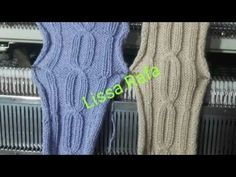 Knitting Charts, Knitting Machine, Baby Sewing, Videos, Youtube, Pattern, Fashion, Recipes, Fabrics