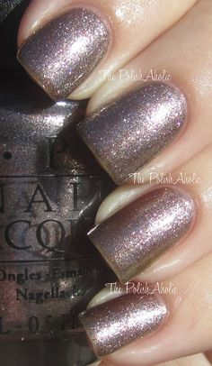 OPI Skyfall collection 2012, colour: The world is not enough!