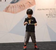 Six-year-old Kazuya Murata, better known as the Yo-YoBaby, is being dubbed as aninternational yo-yo genius. #wow #skills #talent #kid