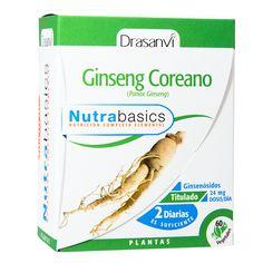 El ginseng coreano, ayuda a mantener la energía, la vitalidad y el bienestar mental.. Hemos elegido un  extracto de Ginseng coreano  3:1, lo que significa que se han utilizado 1800 mg de planta para obtener 600 mg de nuestro extracto