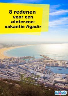 Gouden stranden, groene eucalyptusbomen, een helderblauwe oceaan: Agadir wordt niet zonder reden één van de mooiste badplaatsen of de vakantiehoofdstad van Marokko genoemd. Boek een winterzon vakantie naar Agadir en ontdek wat de Noord-Afrikaanse badplaats te bieden heeft.