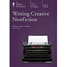 Great Courses WRITING CREATIVE NONFICTION DVD Set Teaching Company Language