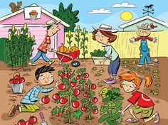 Can You Find the 6 Gardening Words Hidden in This Tricky Farm-Themed Brainteaser?