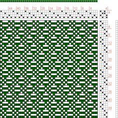 page 1, figure 40: Posselt's Textile Journal | Emmanual Anthony Posselt | U.S.A. | September 1911 | 4-shaft, 4-treadle