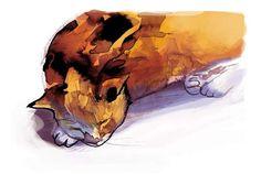 Reçu aujourd'hui quelques exemplaires d'un autre collectif, auquel j'ai participé, Mon Chat à moi, à sortir le 26 novembre (la chouette couverture ci-dessus est de Chloé Cruchaudet). L'histoire de chat que j'y raconte m'avais permis de me replonger dans...